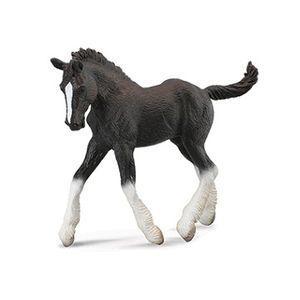 Breyer Corral Pals Black Shire Foal
