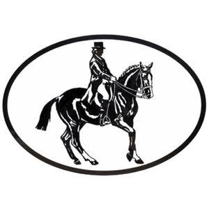 Dressage Rider Vinyl Decal