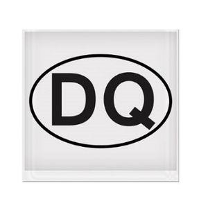 Dressage Queen DQ Vinyl Sticker