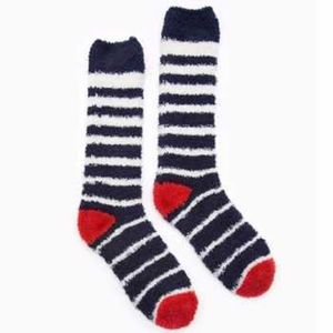Joules Women's Fabulously Fluffy Socks - French Navy