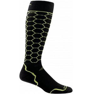 Darn Tough Men's Honeycomb Light Over-The-Calf Socks - Lime