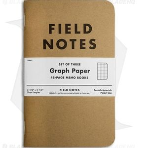Field Notes Graph Paper Books - 3 Pack