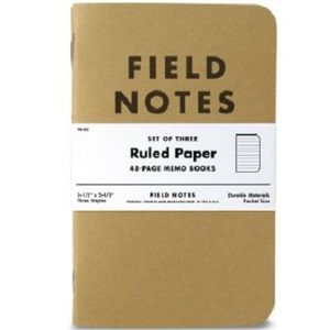 Field Notes Ruled Paper Memo Books - 3 Pack