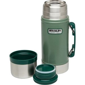 Stanley 24oz Classic Vacuum Food Jar - Hammertone Green