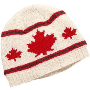 Crown Cap Unisex Canadiana Lambswool Toque - Ivory