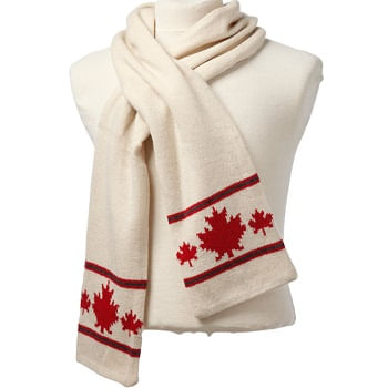 Crown-Cap-Canadiana-Lambswool-Scarf---Ivory-213387