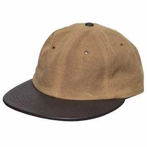 Crown Cap Unisex Wax Cotton Ballcap - Khaki