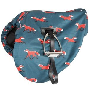 Shires Waterproof English Saddle Cover - Fox