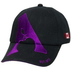 Apple Saddlery Ball Cap - Black/Purple