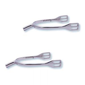 Stubben Ladies 20mm German spurs without rowel
