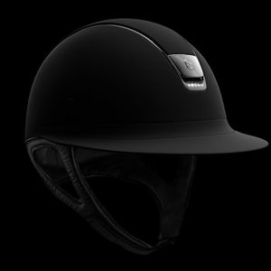 Samshield Miss Shield Shadowmatt 5 Swarovski Helmet - Black