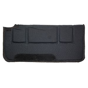 Western Pressure Relief Pad with Removable Shims - Black