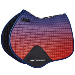WB Prime Ombre Shaped Jump Saddle Pad - Stormy Sky