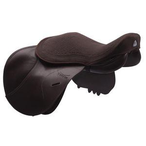 Acavallo Gel in Dri-Lex 10mm Jump Seat Saver - Brown