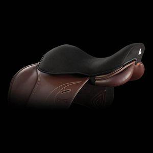 Acavallo Gel in Dri-Lex 20mm Jump Seat Saver - Black