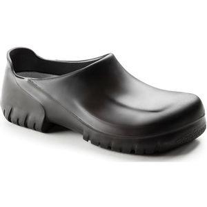 Birkenstock Steel Toe PU Clogs Black (020272)