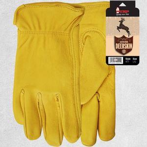 Watson Wild Deerskin Gloves