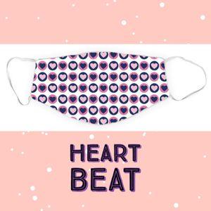 Dreamers & Schemers Face Mask - Heart Beat