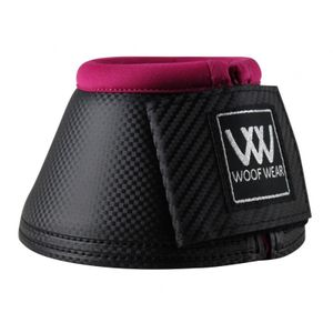 Woof Wear Pro Colour Fusion Over Reach Boots - Black/Berry