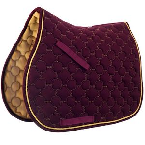 Roma Ecole Noble A/P Pad - Burgundy/Gold