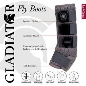 LeMieux Gladiator Mesh Fly Boots