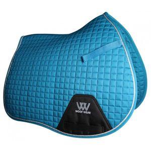 Woof Wear Colour Fusion A/P Saddle Pad - Turquoise