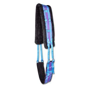 Waldhausen Unicorn Lunging Surcingle - Blue/Purple