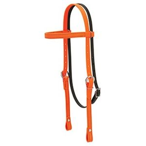Weaver Trail Gear Browband Headstall - Orange