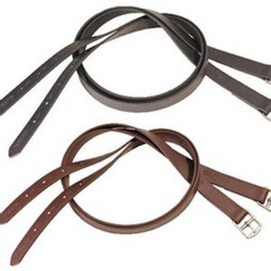 Tekna Stirrup Leathers - Brown