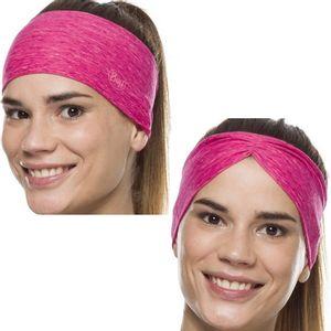 Buff CoolNet UV+ Tapered Headband - Flash Pink