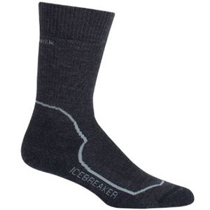 Icebreaker Women's Hike+ Heavy Crew Socks - Jet/Twister/Black