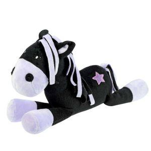 Black Star Plush Horse