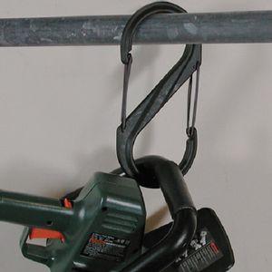 Nite Ize S-Biner, Plastic Dual Carabiner Size #10 - Black
