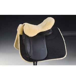HorseDream Lammfelle English Seat Saver - Natural