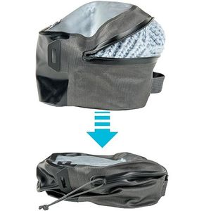 Nite Ize Waterproof RunOff Waterproof Small Packing Cube - Charcoal