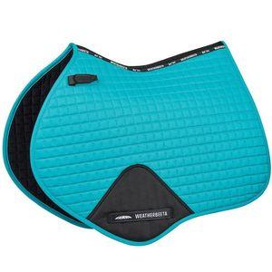 WB Prime Shaped Jump Saddle Pad - Turquoise