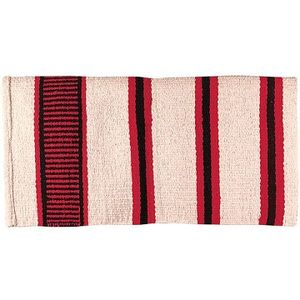 Weaver Double Weave Saddle Blanket - Cream