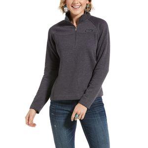 Ariat Women's R.E.A.L 1/2 Zip Sweatshirt - Periscope