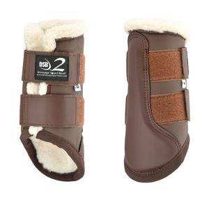 Dressage Sport Boots Dsb2 Boots - Matte Brown/white