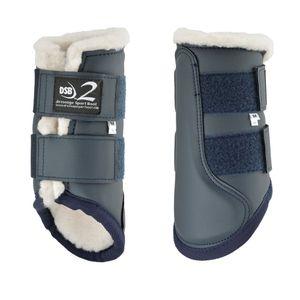 Dressage Sport Boots Dsb2 Boots - Matte Navy/white