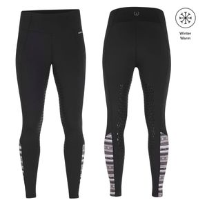 Kerrits Womens Thermo Tech Full Leg Riding Tights - Black
