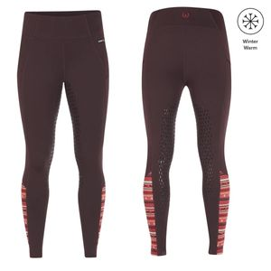 Kerrits Womens Thermo Tech Full Leg Riding Tights - Fig