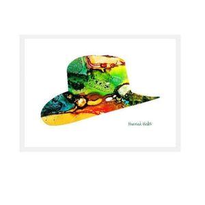 Hannah Hicks Art Card - Cowboy Hat