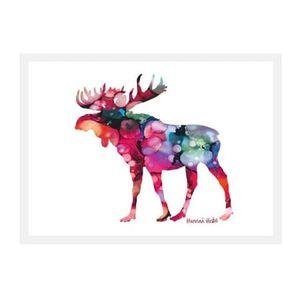 Hannah Hicks Art Card - Moose