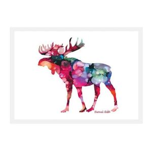 Hannah Hicks Art Card - Moose