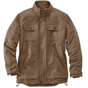 Carhartt Men's Full Swing Relaxed Fit Quick Duck Insulated Jacket - Canyon Brown
