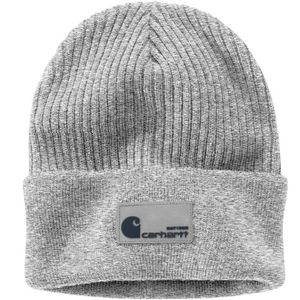 Carhartt Men's Rib Knit Hat - Heather Gray