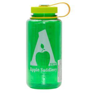 Nalgene 32oz Wide Mouth Water Bottle with Apple Saddlery Logo - Melon