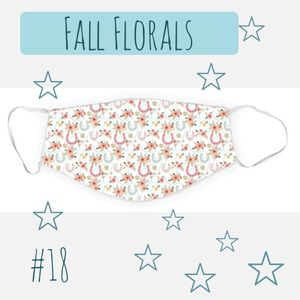 Dreamers & Schemers Two Layer Mask - Fall Floral