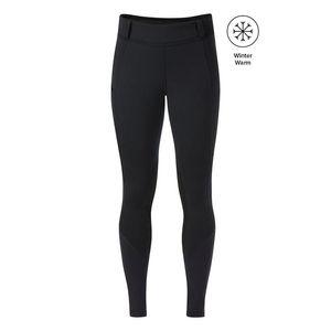 Kerrits Women's Sit Tight Wind Pro Knee Patch Tights - Black